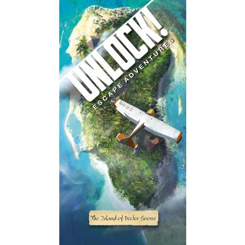 Unlock! The Island of Doctor Goorse - настолна игра