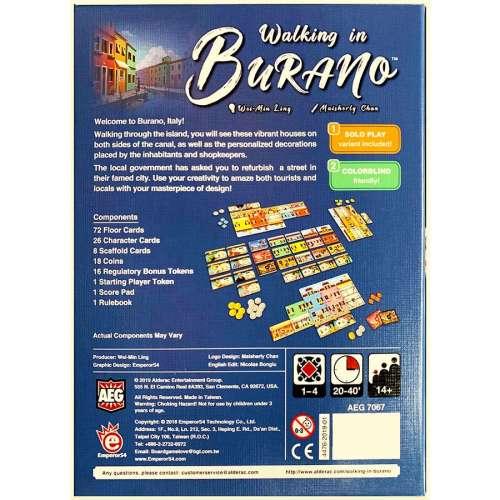 Walking in Burano - настолна игра