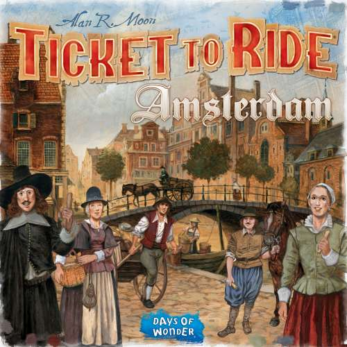 Ticket to Ride: Amsterdam - настолна игра