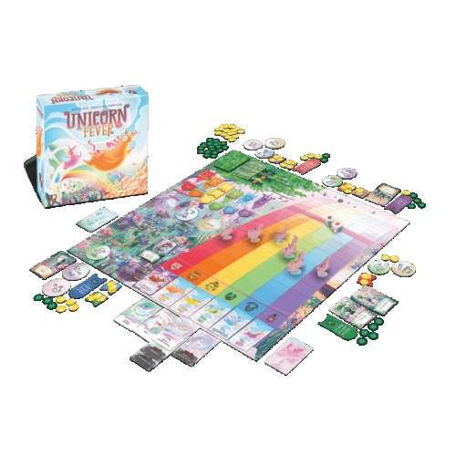 Unicorn Fever - настолна игра