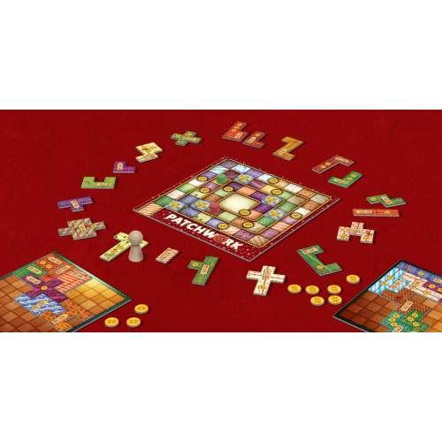 Patchwork Christmas Edition - настолна игра
