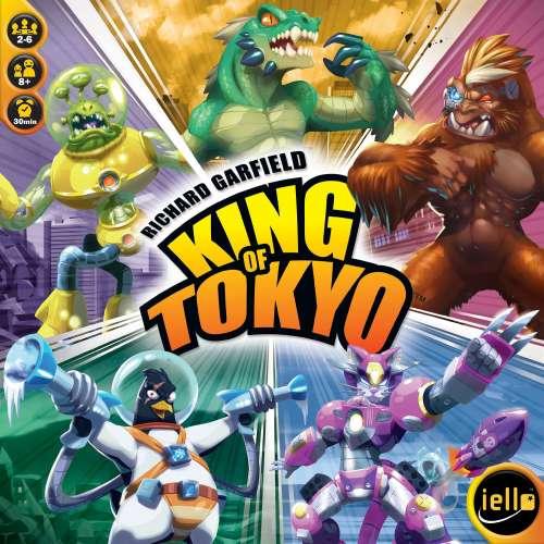 King of Tokyo - настолна игра
