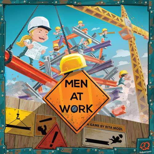 Men at Work - настолна игра