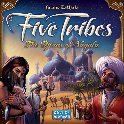 Five Tribes - настолна игра