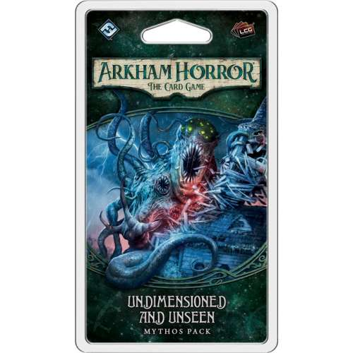 Arkham Horror: The Card Game – Undimensioned and Unseen: Mythos Pack - разширение за настолна игра