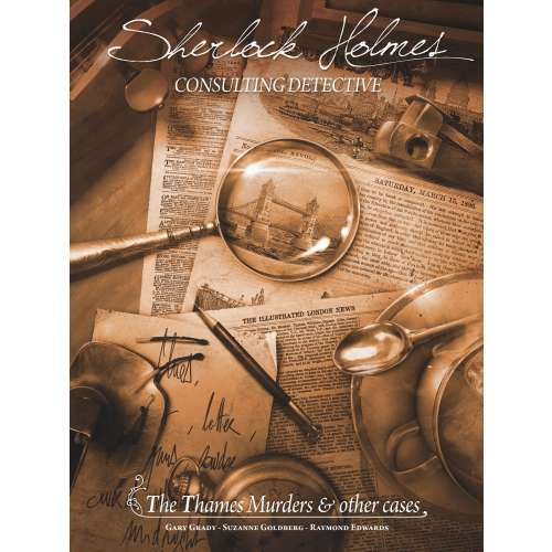 Sherlock Holmes Consulting Detective: The Thames Murders & Other Cases - настолна игра