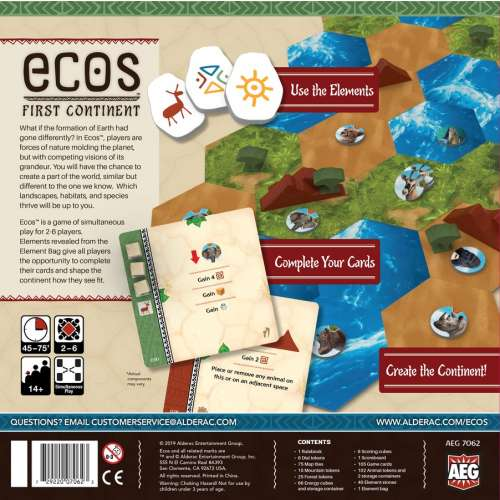 Ecos: First Continent - настолна игра