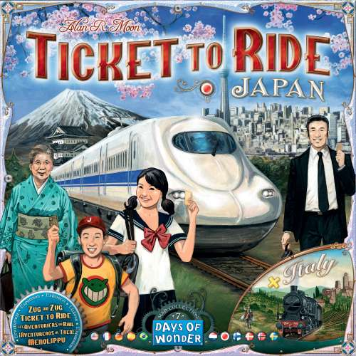 Ticket to Ride Map Collection: Volume 7 – Japan & Italy - разширение за настолна игра