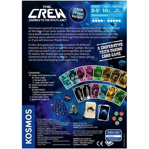 The Crew: The Quest for Planet Nine - настолна игра