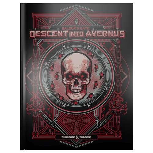 Dungeons & Dragons RPG: Baldur's Gate - Descent Into Avernus Adventure Book (Alternate Cover)