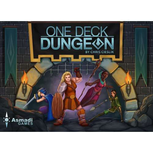 One Deck Dungeon - настолна игра