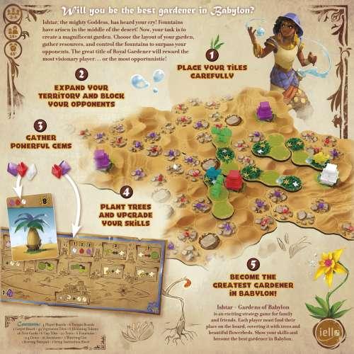 Ishtar: Gardens of Babylon - настолна игра
