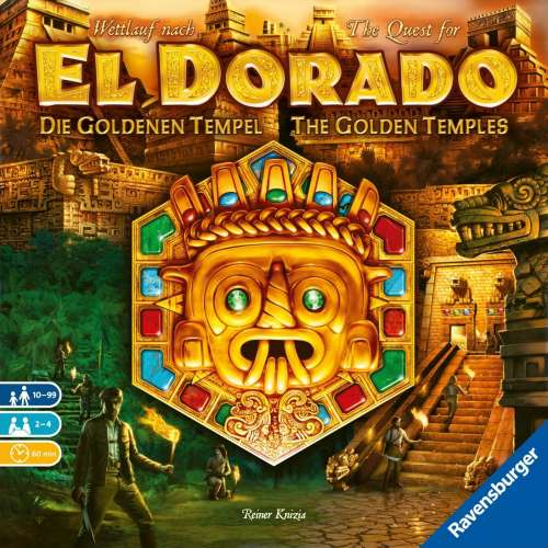 The Quest for El Dorado: The Golden Temples - настолна игра