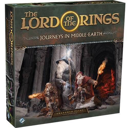The Lord of the Rings: Journeys in Middle Earth – Shadowed Paths Expansion - разширение за настолна игра