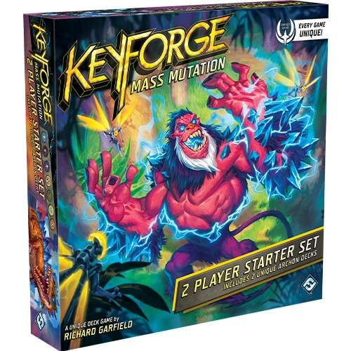 KeyForge: Mass Mutation - 2 Player Starter Set - настолна игра