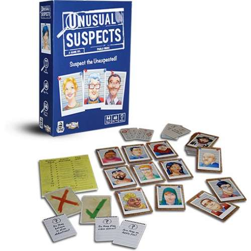 Unusual Suspects - настолна игра