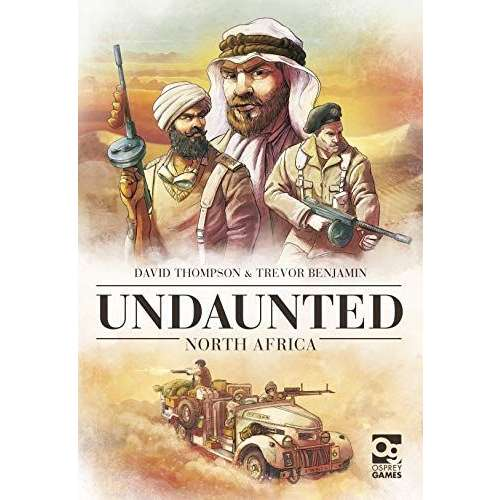 Undaunted: North Africa - настолна игра