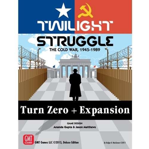 Twilight Struggle: Turn Zero and Promo Packs - разширение за настолна игра