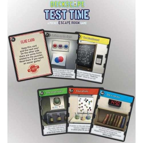 Deckscape: Test Time - настолна игра