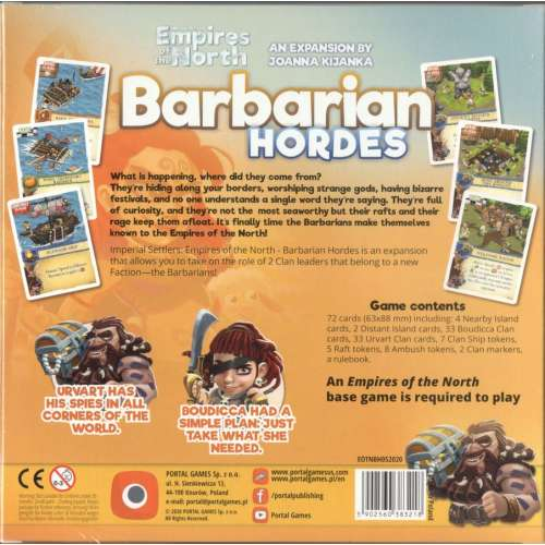 Imperial Settlers: Empires of the North – Barbarian Hordes - разширение за настолна игра