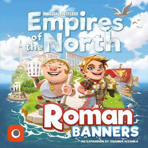 Imperial Settlers: Empires of the North – Roman Banners - разширение за настолна игра