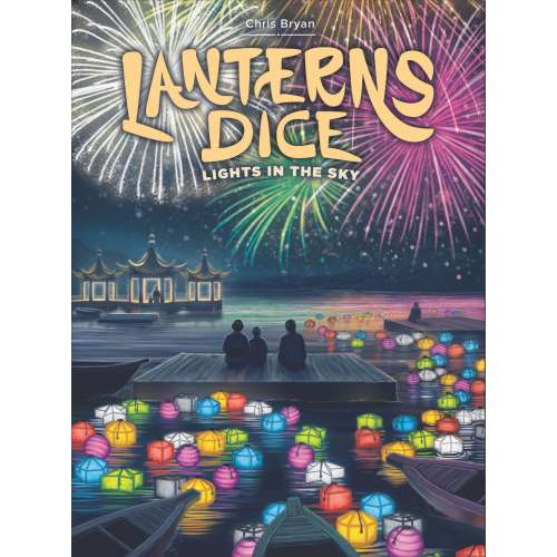 Lanterns Dice: Lights in the Sky - настолна игра