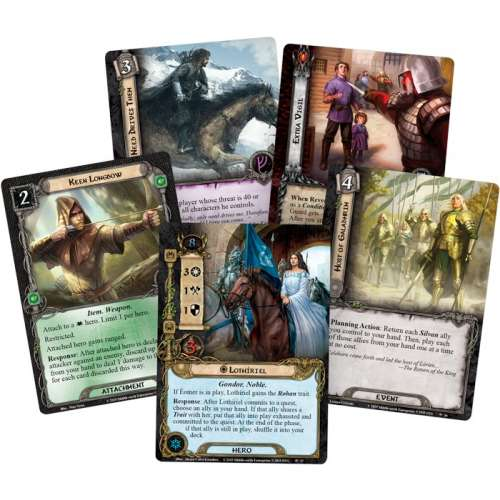 The Lord of the Rings: The Card Game – The City of Ulfast - разширение за настолна игра