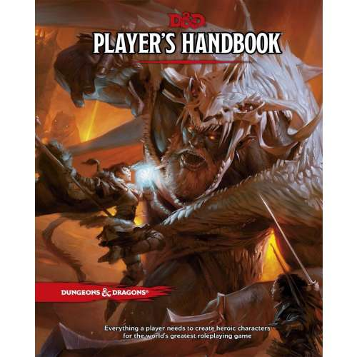 Dungeons & Dragons RPG: Player's Handbook (5th Edition)