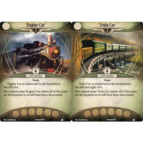 Arkham Horror: The Card Game – The Essex County Express: Mythos Pack - разширение за настолна игра