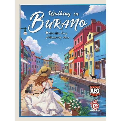 Walking in Burano - настолна игра