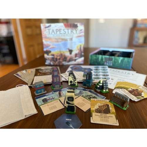 Tapestry: Plans and Ploys - разширение за настолна игра