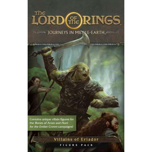 The Lord of the Rings: Journeys in Middle-Еarth – Villains of Eriador Figure Pack - разширение за настолна игра