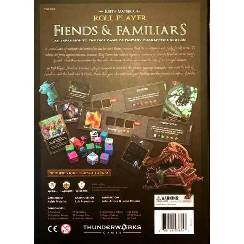 Roll Player: Fiends & Familiars - разширение за настолна игра