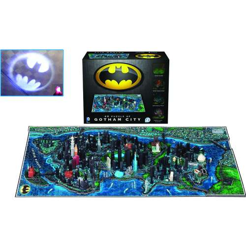 Batman: Gotham City 4D Puzzle - пъзел
