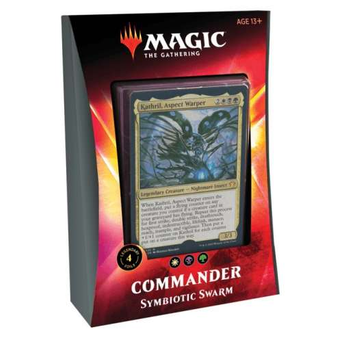 Magic: The Gathering - Ikoria: Lair of Behemoths Commander Deck - Symbiotic Swarm