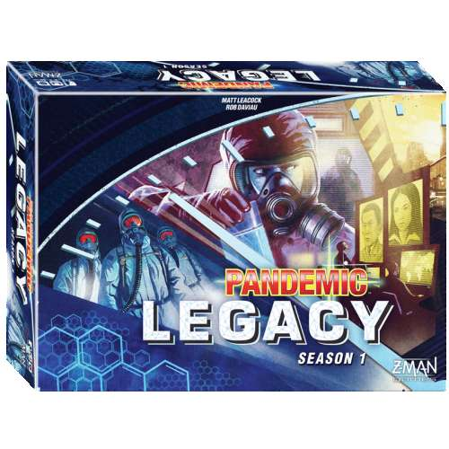 Pandemic Legacy: Season 1 (Blue Cover) - настолна игра