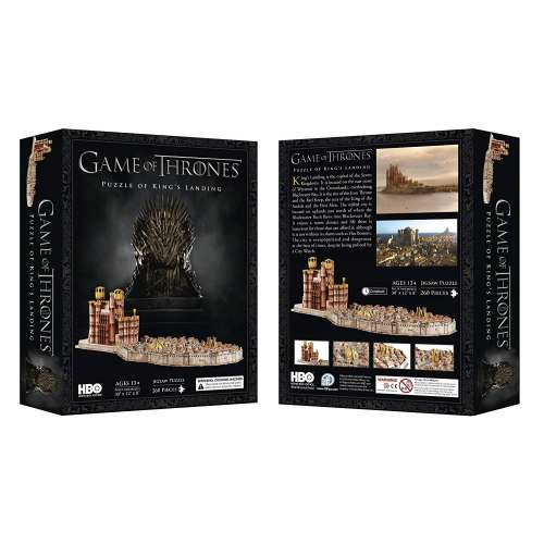 Game of Thrones: King's Landing 3D Puzzle - пъзел