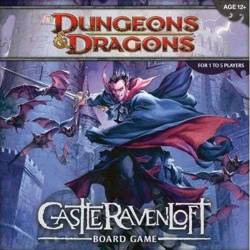 Dungeons & Dragons: Castle Ravenloft Board Game - настолна игра