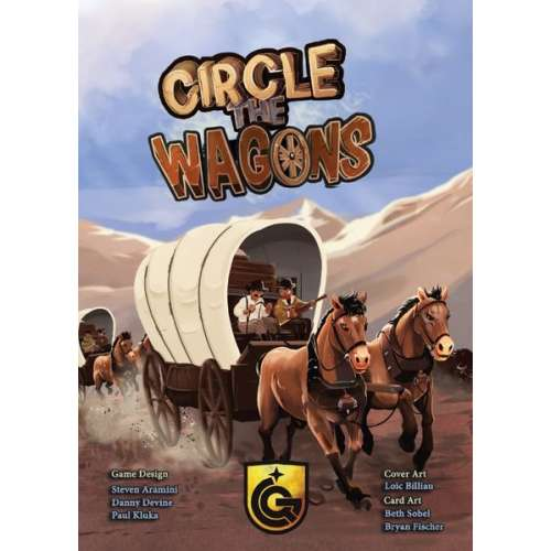 Circle the Wagons - настолна игра