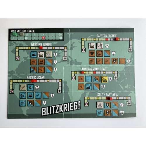 Blitzkrieg!: World War Two in 20 Minutes - настолна игра