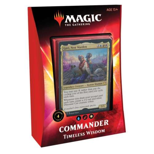 Magic: The Gathering - Ikoria: Lair of Behemoths Commander Deck - Timeless Wisdom
