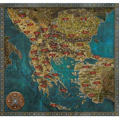 Битката за Балканите. Ерата на Калоян - настолна игра