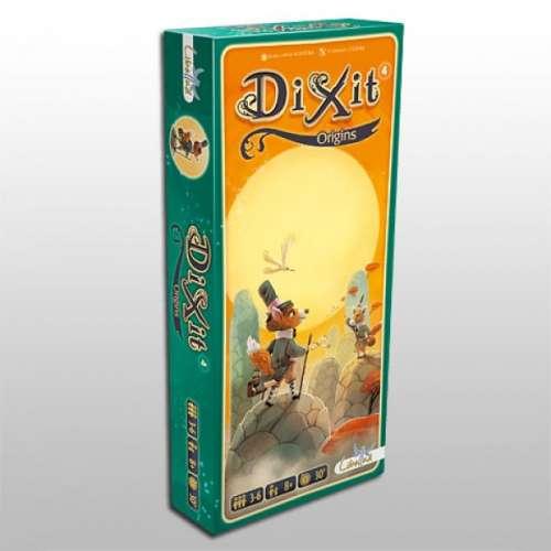 Dixit 4: Origins - разширение за настолна игра