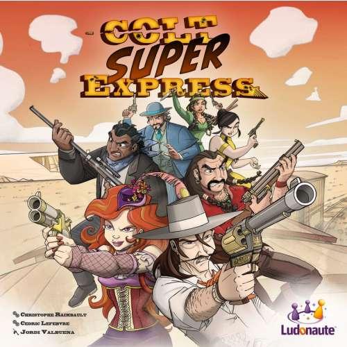 Colt Super Express - настолна игра