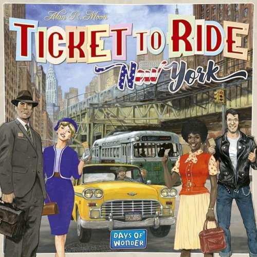 Ticket to Ride: New York - настолна игра