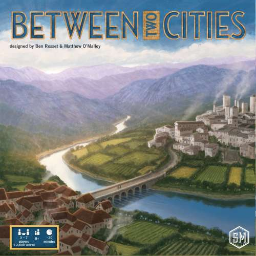 Between Two Cities - настолна игра