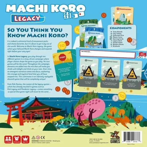 Machi Koro Legacy - настолна игра