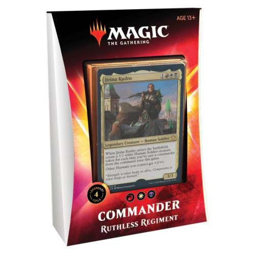Magic: The Gathering - Ikoria: Lair of Behemoths Commander Deck - Ruthless Regiment