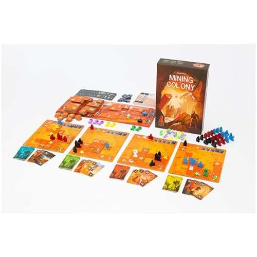 Mining Colony - настолна игра